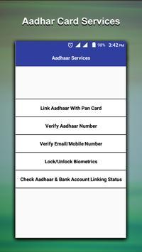 Aadhar card-Download-Update-Status screenshot 2