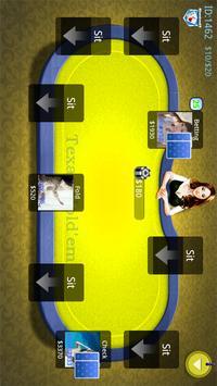 Online Texas Poker Game screenshot 1