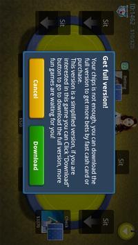 Online Texas Poker Game screenshot 2