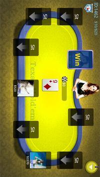 Online Texas Poker Game screenshot 3