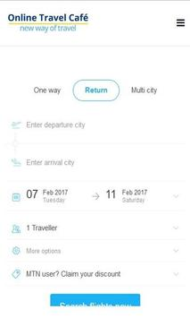 Online Travel Café apk screenshot
