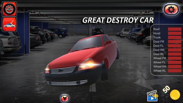Car Crash Test Simulator Game