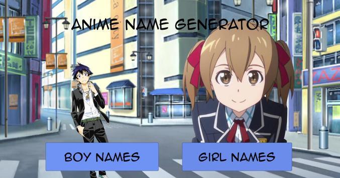 Anime Name Generator screenshot 1