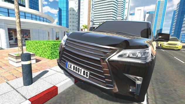 Offroad Car LX الملصق