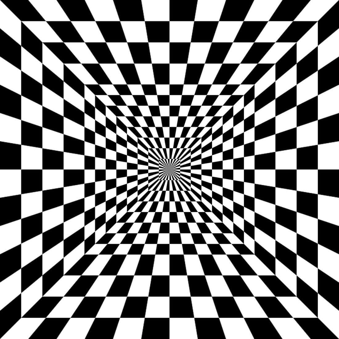 С иллюзии обмана картинки