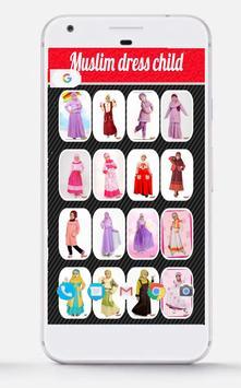 Muslim Dress child poster