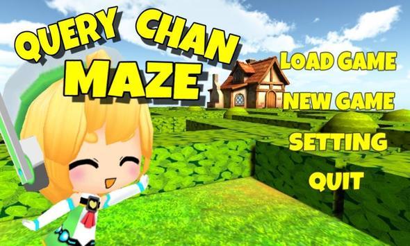 Query Chan Maze 3D poster