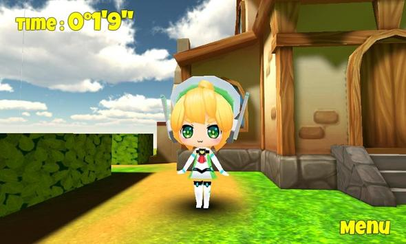 Query Chan Maze 3D apk screenshot