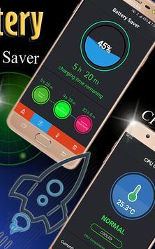 Orange Battery - Ultra fastest Battery Charge 7x screenshot 1