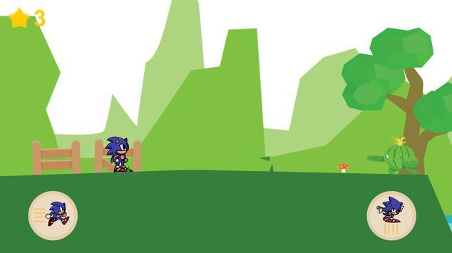 Super Sonic Run poster