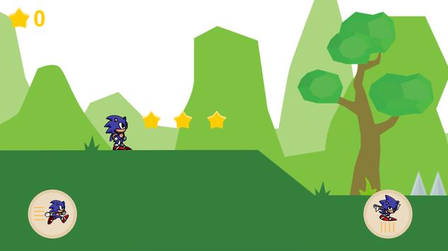 Super Sonic Run apk screenshot