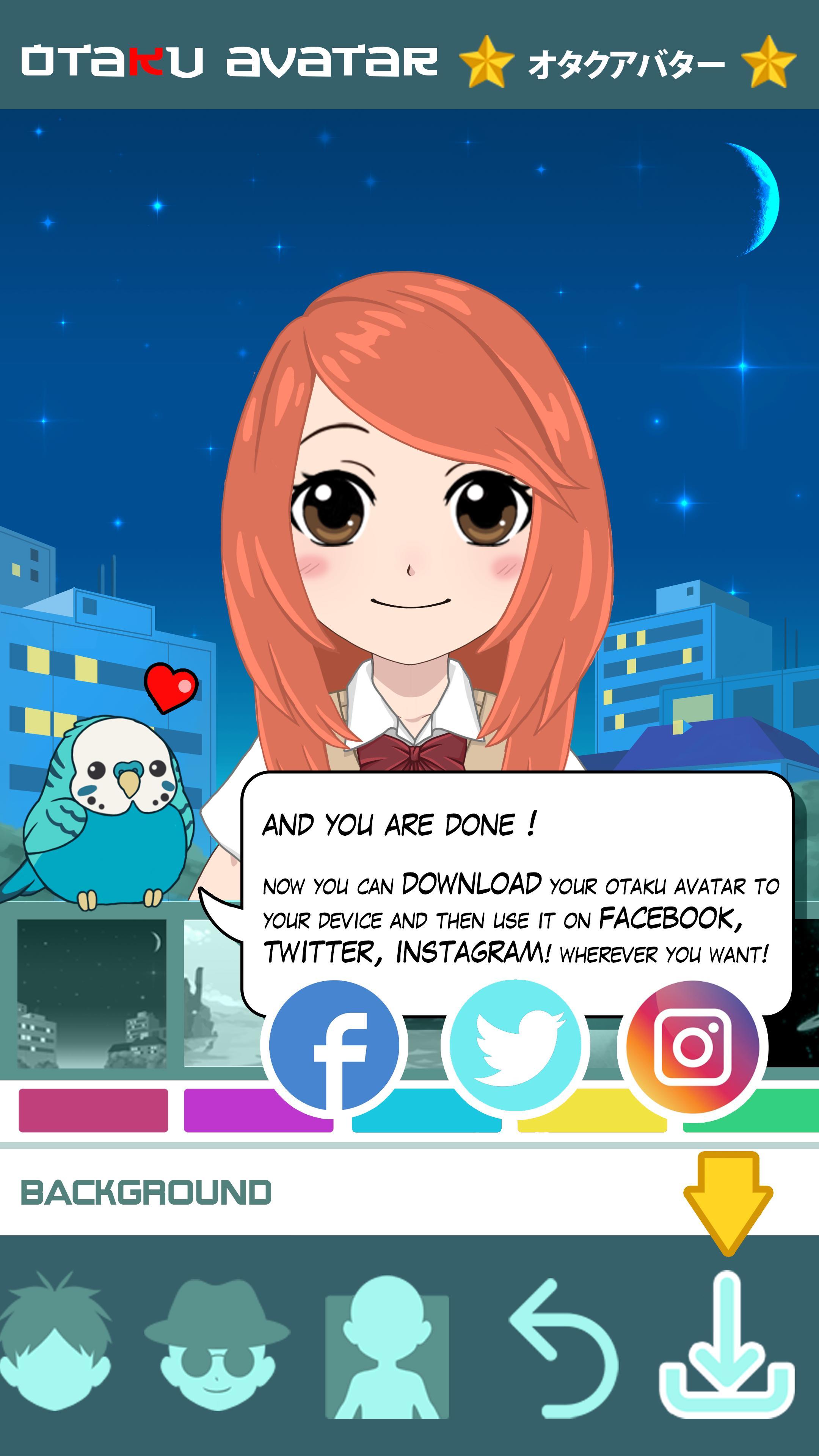 Otaku Avatar maker for Android - APK Download