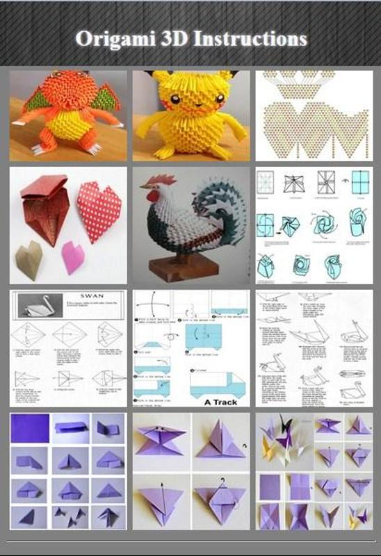 free 3d origami instructions