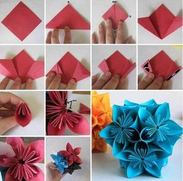 Origami flower tutorial apk download free lifestyle app for origami flower tutorial poster origami flower tutorial apk screenshot mightylinksfo