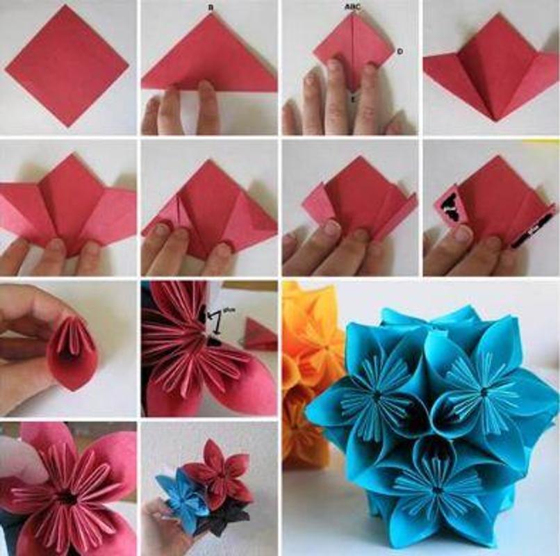Origami flower tutorial for android apk download origami flower tutorial poster origami flower tutorial screenshot 1 mightylinksfo