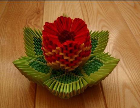 Origami Flower Instruction apk screenshot