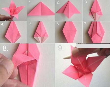 Origami Flower Tutorial For Android Apk Download