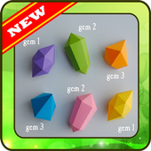 3D Origami step by step offline icon