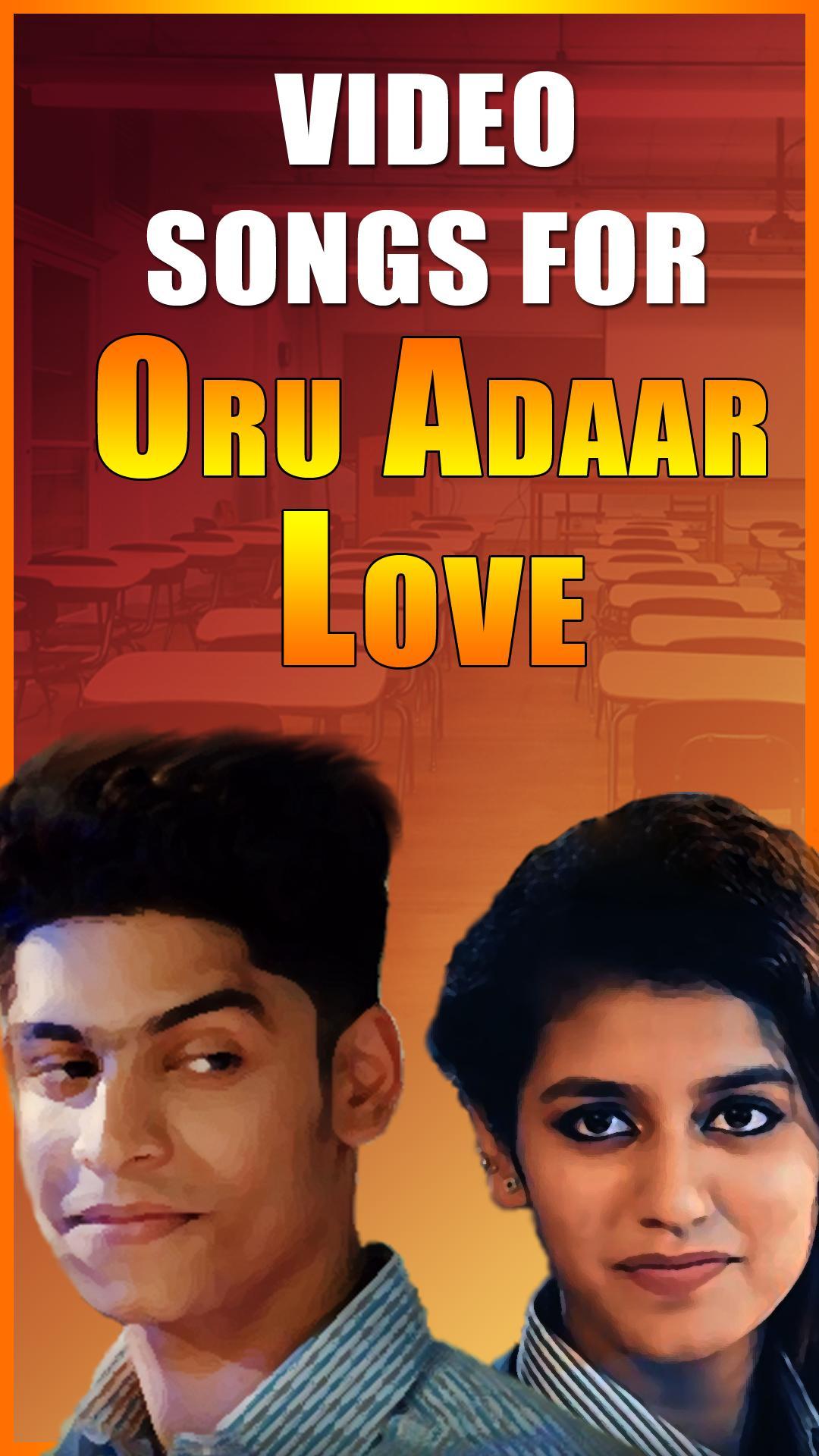 malayalam film oru adaar love video songs download