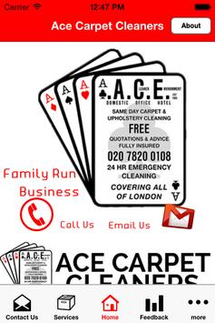 Ace Carpet Cleaners poster