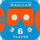 Ostrich 360 VR Player icon