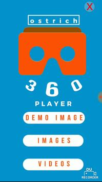 Ostrich 360 VR Player poster