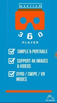 Ostrich 360 VR Player screenshot 1