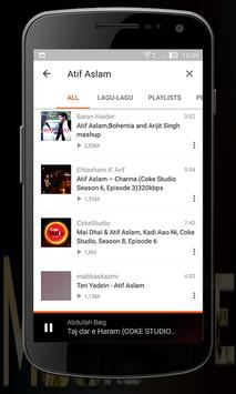 Atif Aslam Full Songs apk screenshot