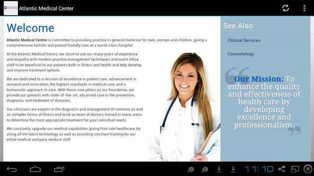 Atlantic Medical Center screenshot 1