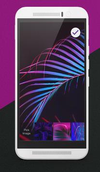 Vaporwave Palm Lock Screen apk screenshot
