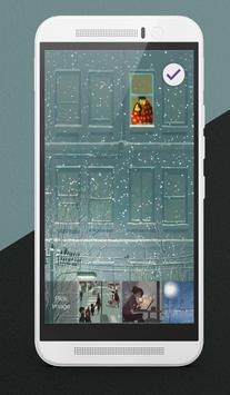 Warm Winter Lock Screen apk screenshot