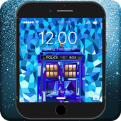 Tardis Doctor Who Art Wallpapers Lock Screen icon