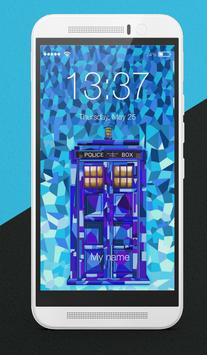 Tardis Doctor Who Art Wallpapers Lock Screen poster
