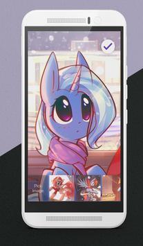 Winter Pony Lock Screen apk screenshot
