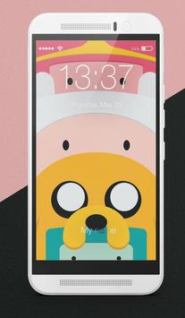 Adventure Time Wallpapers Fanart Lock Screen poster