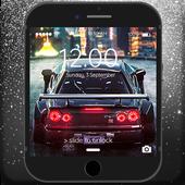 Future Drift Cars Lock Screen icon