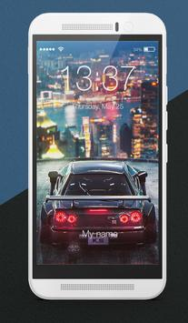 Future Drift Cars Lock Screen poster