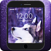 Hasky Dog Furry Puppies Husky Adorable Lock Screen icon