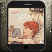 BTS K-Pop Adorable Korean Pop Lock Screen icon
