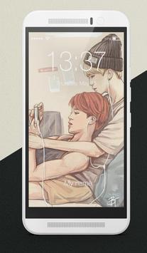 BTS K-Pop Adorable Korean Pop Lock Screen poster
