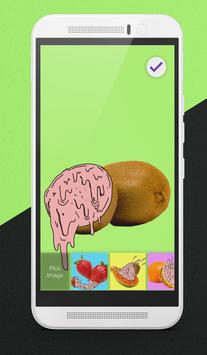 Melting Fruits Lock Screen apk screenshot
