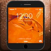 Orange Foxes Lock Screen icon