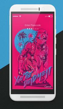 Hotline Miami Fanart Wallpapers Lock Screen apk screenshot
