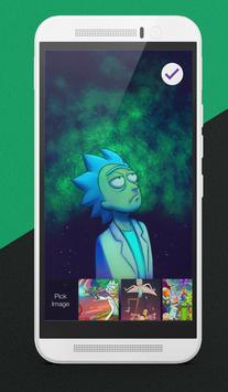 Rick And Morty Art Adventure Wallpaper Lock Screen apk screenshot