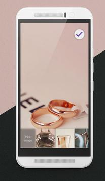 Rose Gold Adorable Wallpapers Tumblr Lock Screen poster