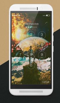 Space Collage Lock Screen apk screenshot