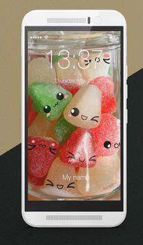 Tasty Sweets And Yummy Things Adorable Lock Screen apk screenshot