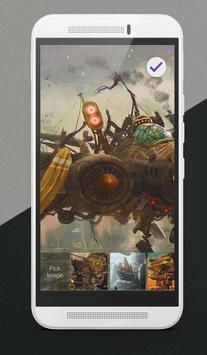 Steampunk Lock Screen apk screenshot