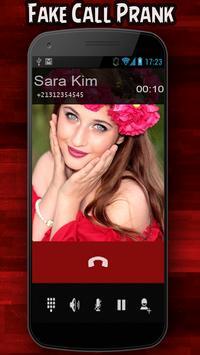 Fake Call Prank 2 screenshot 1