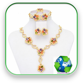 Gift jewelry icon